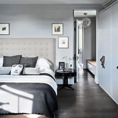 Stunning grey bedroom flooring ideas for soft room 12