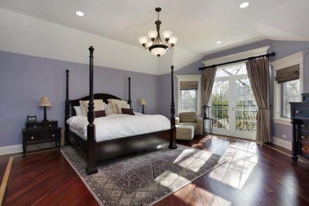 Stunning grey bedroom flooring ideas for soft room 17
