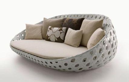 Unique bamboo sofa chair designs ideas 01