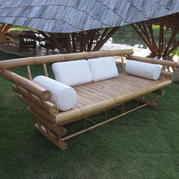 Unique bamboo sofa chair designs ideas 35