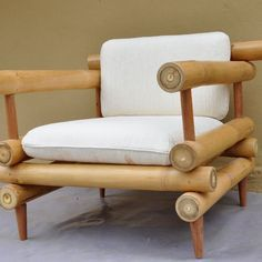 Unique bamboo sofa chair designs ideas 36