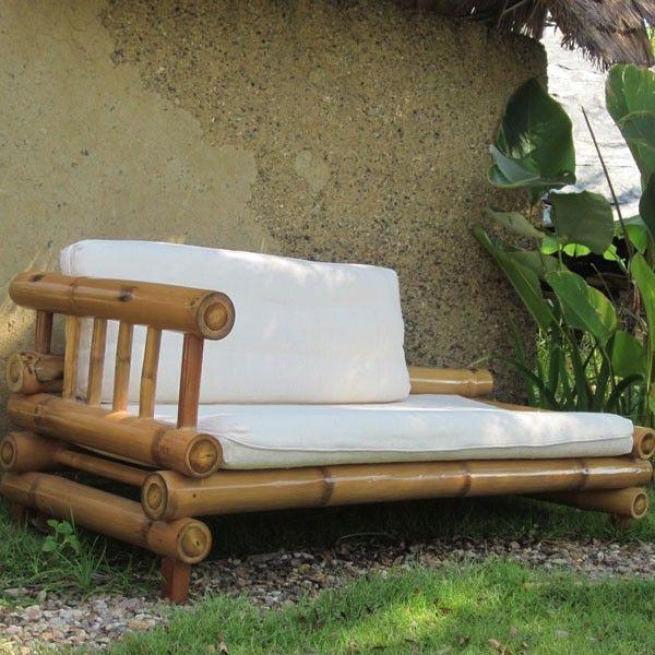 Unique bamboo sofa chair designs ideas 38