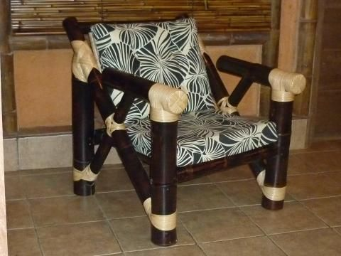 Unique bamboo sofa chair designs ideas 39
