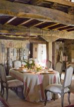 Unique dining room design ideas with french style 10