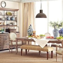 Unique dining room design ideas with french style 13
