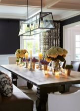 Unique dining room design ideas with french style 14