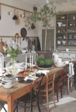 Unique dining room design ideas with french style 16