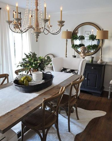 Unique dining room design ideas with french style 20