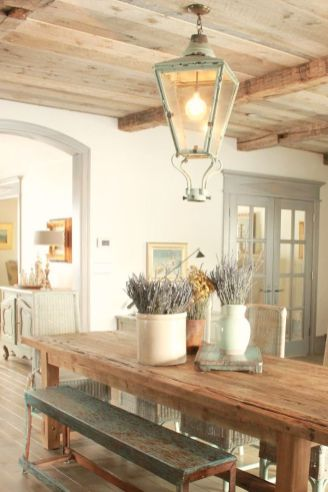 Unique dining room design ideas with french style 21