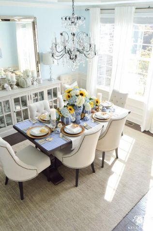 Unique dining room design ideas with french style 28
