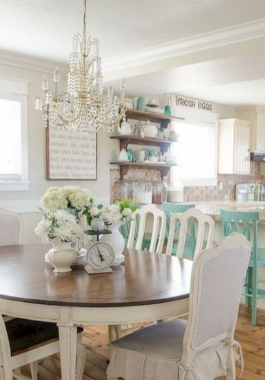 Unique dining room design ideas with french style 34