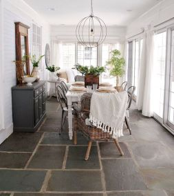Unique dining room design ideas with french style 38