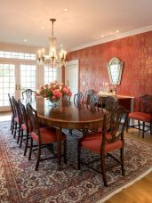 Unique dining room design ideas with french style 41