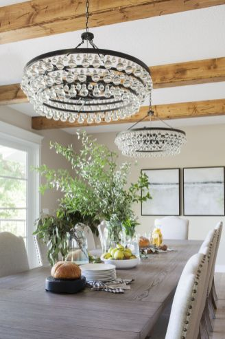 Unique dining room design ideas with french style 43
