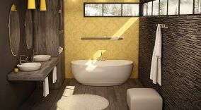 Affordable bathtub design ideas for classy bathroom 41