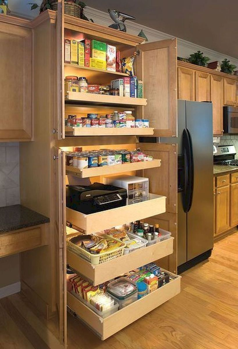 Amazing diy organized kitchen storage ideas 10