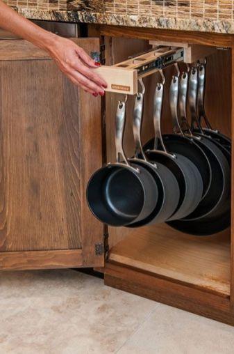 Amazing diy organized kitchen storage ideas 36