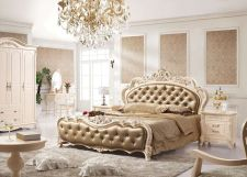 Awesome french style bedroom decor ideas 19