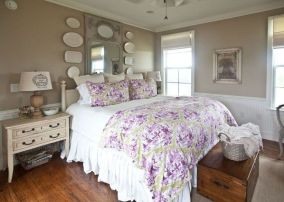 Awesome french style bedroom decor ideas 21