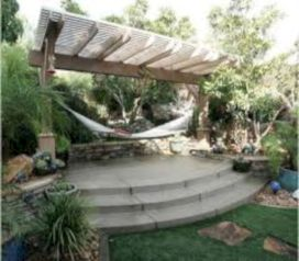 Best backyard hammock decor ideas 06
