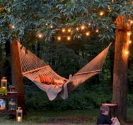 Best backyard hammock decor ideas 17