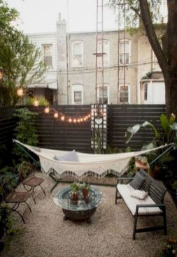 Best backyard hammock decor ideas 18
