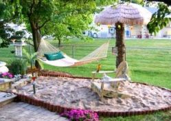 Best backyard hammock decor ideas 20