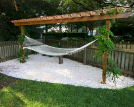 Best backyard hammock decor ideas 23