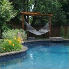 Best backyard hammock decor ideas 24