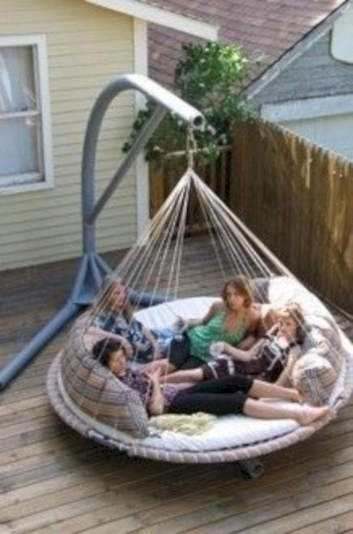 Best backyard hammock decor ideas 25