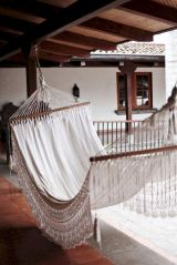 Best backyard hammock decor ideas 34