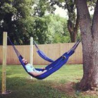 Best backyard hammock decor ideas 44