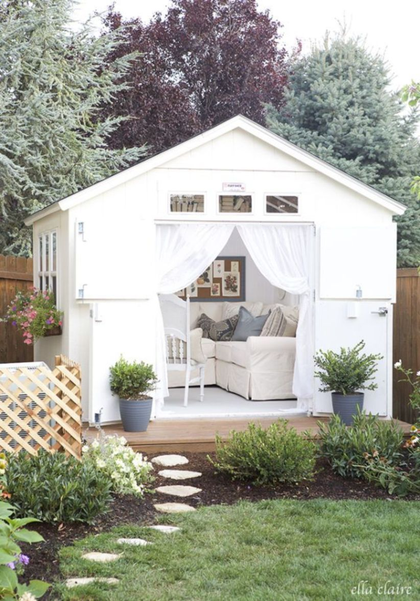 Captivating ideas for backyard studio office 09