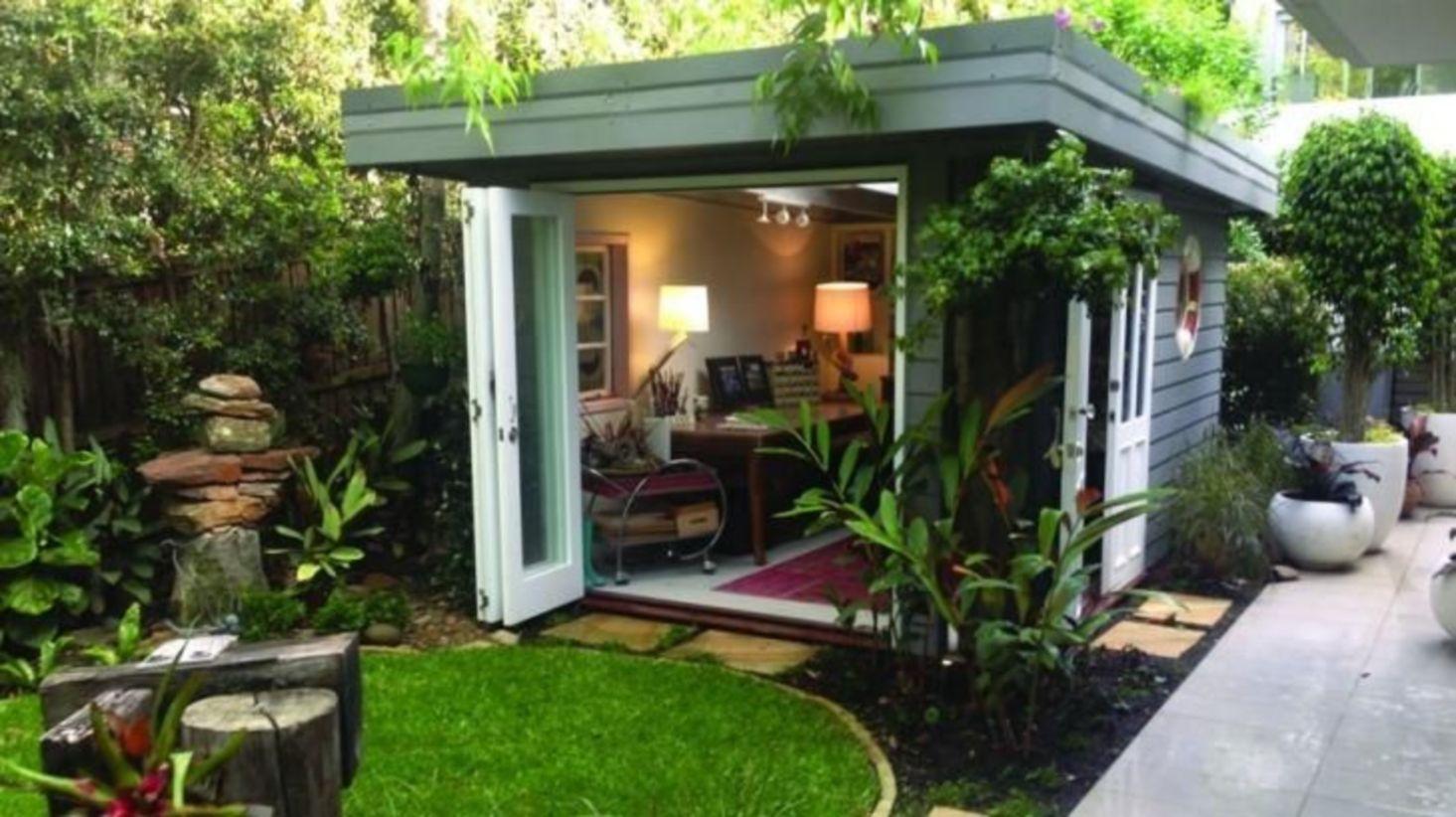 Captivating ideas for backyard studio office 22