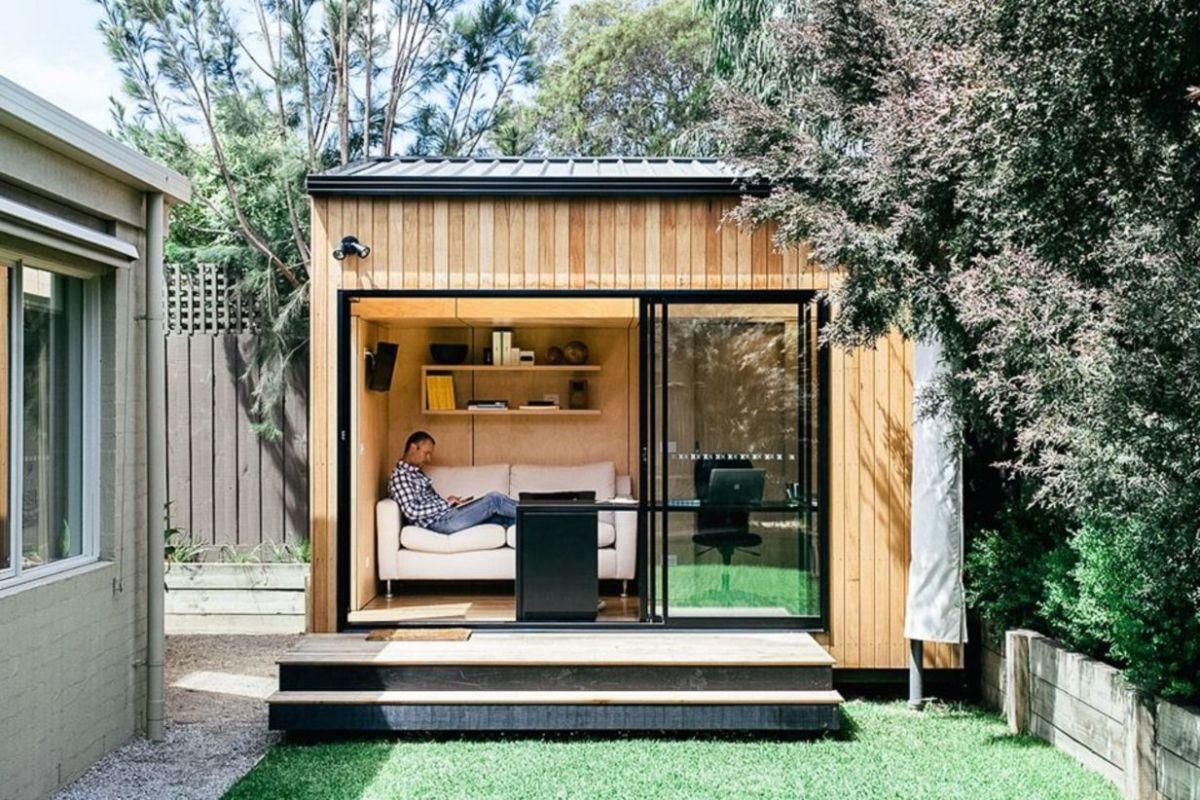 Captivating ideas for backyard studio office 32