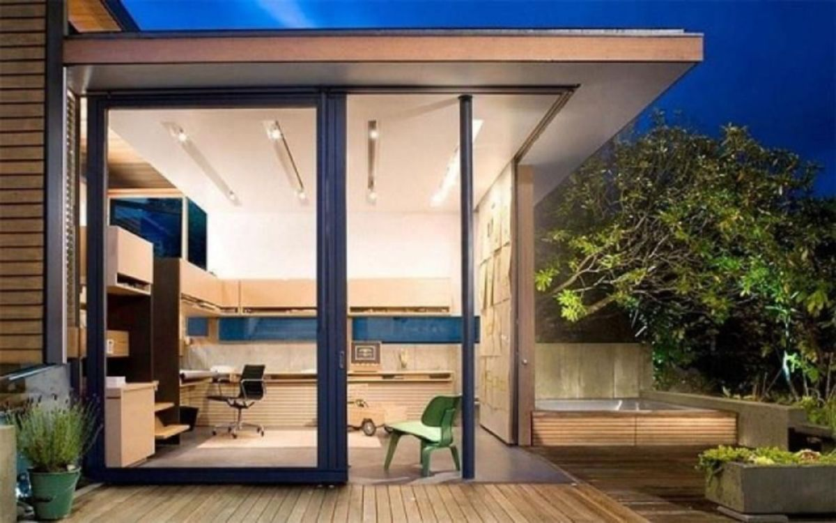 Captivating ideas for backyard studio office 42