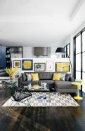 Charming gray living room design ideas for your apartment 33