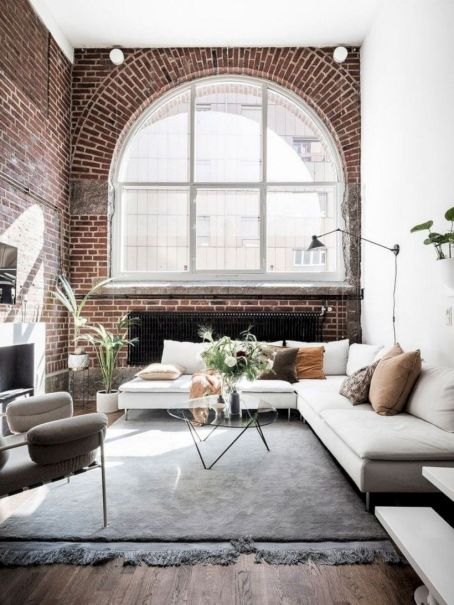 Colorful brick wall design ideas for home interior ideas 08