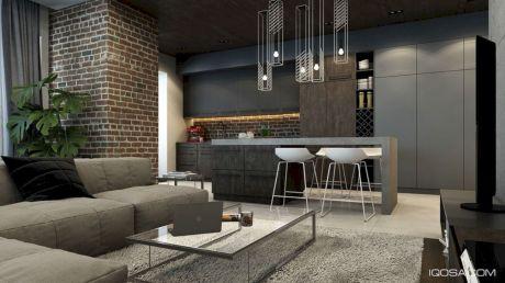 Colorful brick wall design ideas for home interior ideas 10