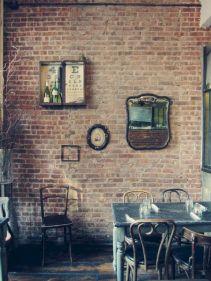 Colorful brick wall design ideas for home interior ideas 16
