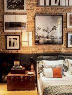 Colorful brick wall design ideas for home interior ideas 31