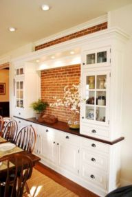 Colorful brick wall design ideas for home interior ideas 36