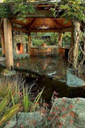 Comfy green country backyard remodel ideas 35