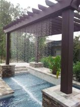 Comfy green country backyard remodel ideas 40