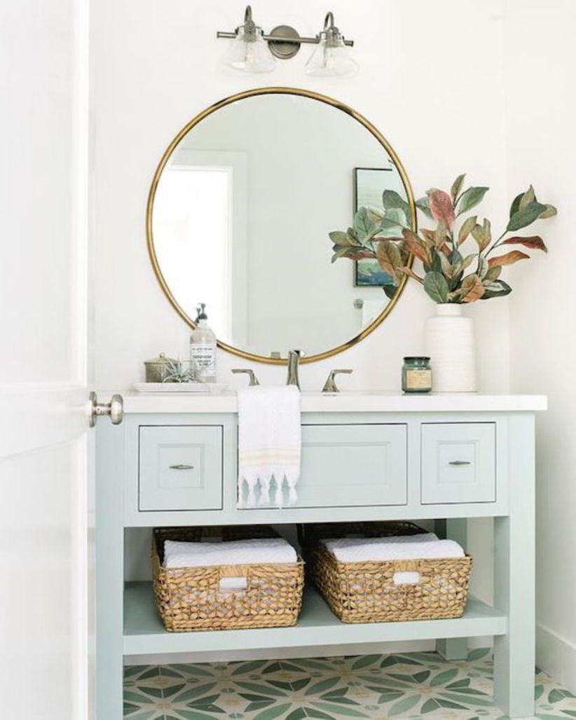 Cool bathroom mirror ideas 09