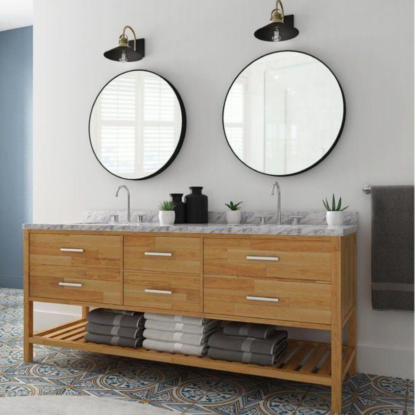 Cool bathroom mirror ideas 11
