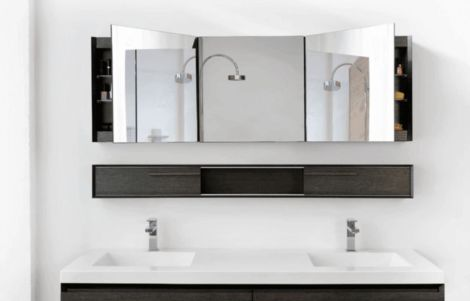 Cool bathroom mirror ideas 15