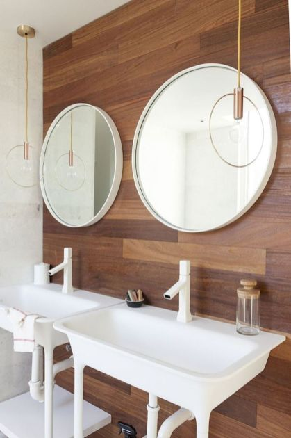 Cool bathroom mirror ideas 35