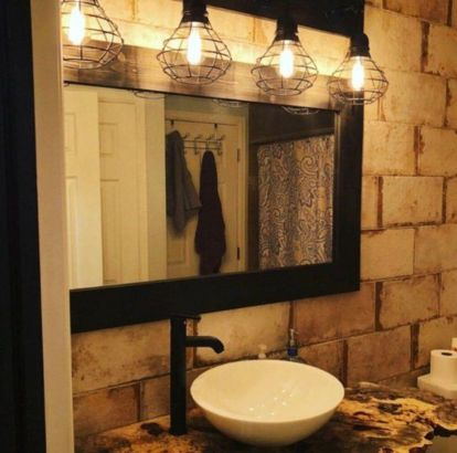 Cool bathroom mirror ideas 36