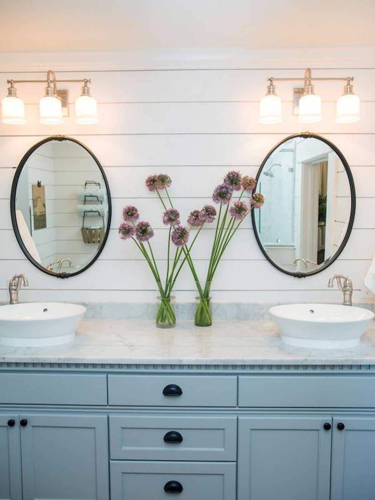 Cool bathroom mirror ideas 43